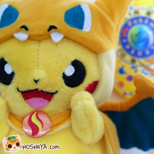 Pokemon MegaTokyo Pikazard Mascot Plush (Close up)