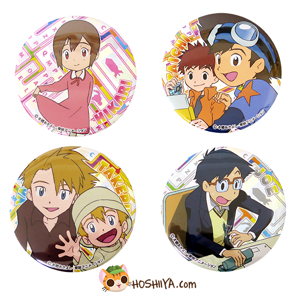 Digimon Adventure Can Badges: Our War Game