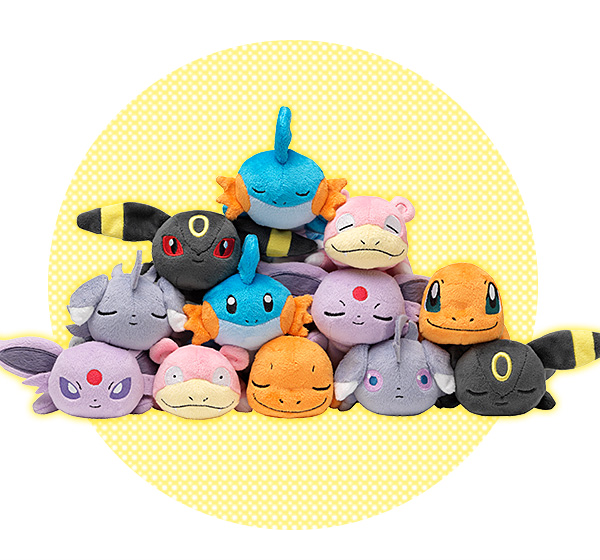 Pokemon Kuttari Plush vol. 2