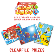 Pokemon Center Tanoshimi 2015 Kuji: B Prize Clearfile