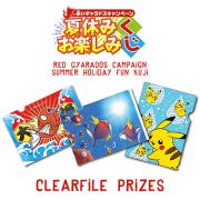 Pokemon Center Tanoshimi 2015 Kuji: B Prize Clearfile