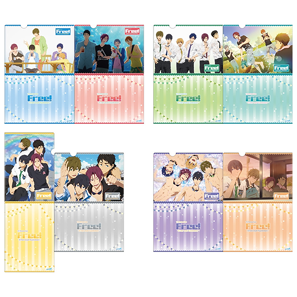 Free! AniKuji – Clearfile Set