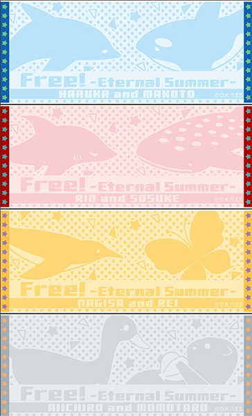 Free! AniKuji – Face Towels