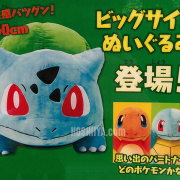 Pokemon Center 20th Anniversary Big Size Starter Plush